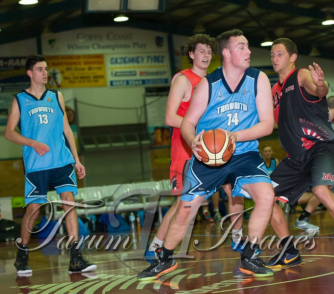 © Braves (70) v Tamworth Thunderbolts (75) 4 July 2015-7659