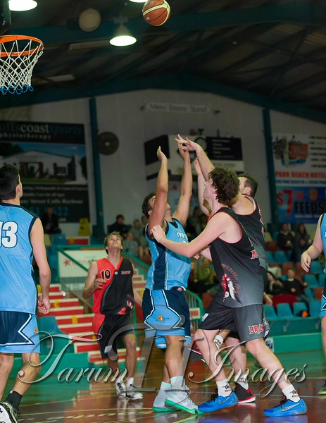 © Braves (70) v Tamworth Thunderbolts (75) 4 July 2015-7704