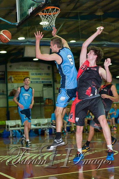 © Braves (70) v Tamworth Thunderbolts (75) 4 July 2015-7611