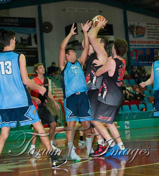 © Braves (70) v Tamworth Thunderbolts (75) 4 July 2015-7703
