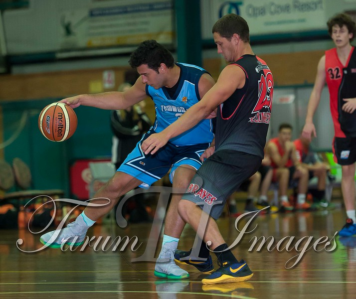 © Braves (70) v Tamworth Thunderbolts (75) 4 July 2015-7464