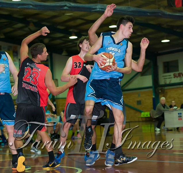 © Braves (70) v Tamworth Thunderbolts (75) 4 July 2015-7626
