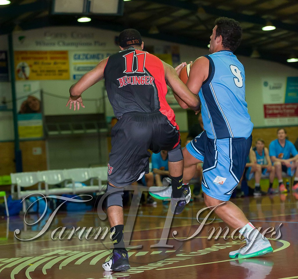 © Braves (70) v Tamworth Thunderbolts (75) 4 July 2015-7468