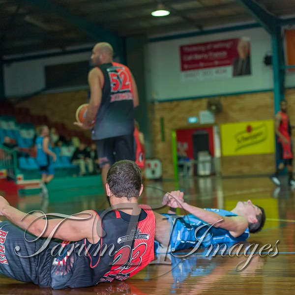 © Braves (70) v Tamworth Thunderbolts (75) 4 July 2015-7790