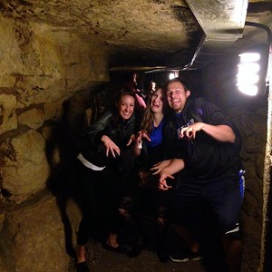 My Siblings Doing the Creep in the Catacombs of Paris