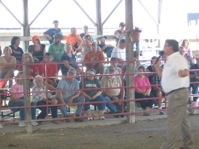 Benton County Fair Kiddie Tractor Pull