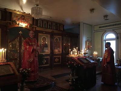 Bishop Peter Visits St. Vladimir Church - Vigil