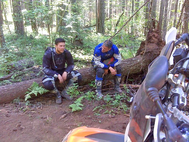 """Saturday's  trail """"A"""" ride"""