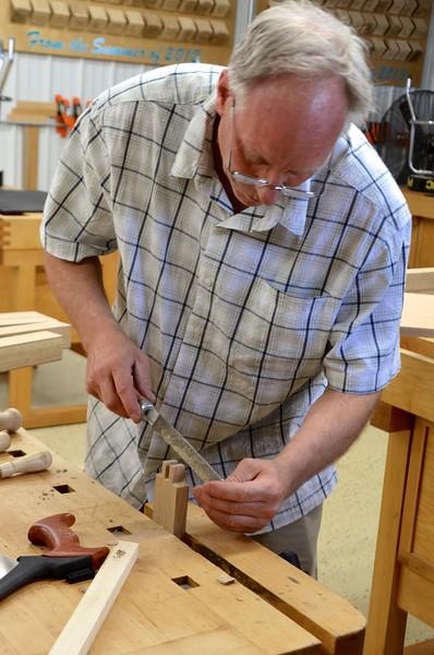 Blending Hand & Power: Making a Unique Gate-Leg Table with Gochnour