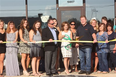 Bliss Boutique Ribbon Cutting