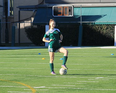 Girls soccer (Playoff Newman)