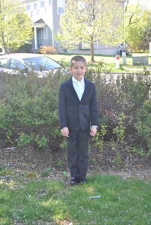 Brady's First Communion