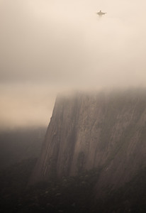 Christ the Redeemer as seen from Sugarloaf.