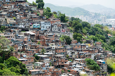 There are over 1000 favelas in Rio.