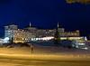 Mount Washington Hotel at night