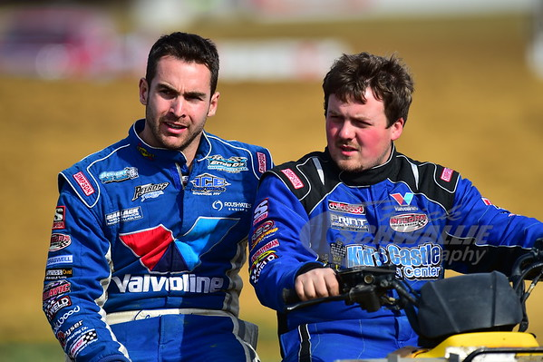 Josh Richards and Brandon Sheppard