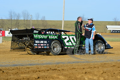 Jimmy Owens won the Miller Welders Fast Time Award