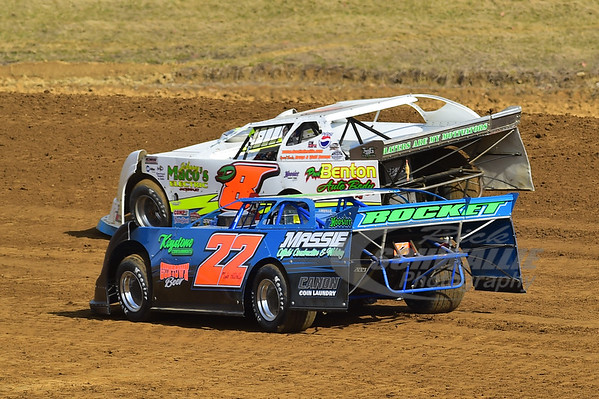 22 Toby Massie and D8 Dustin Linville