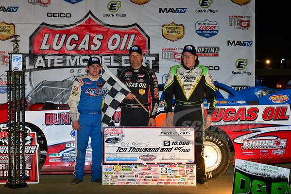 Devin Moran, Earl Pearson, Jr. and Scott Bloomquist