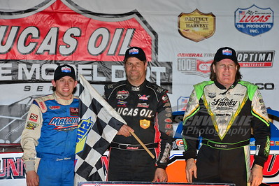 Devin Moran, Earl Pearson, Jr. and Scott Bloomquist