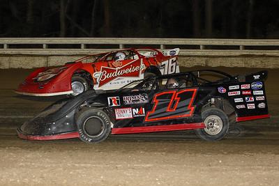 Austin Kirkpatrick (11) and Brandon Overton (76)