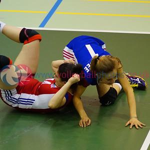 LUX 3 v 0 LIE (23, 22, 21), 2015 Women's CEV European Championship Finals (Small Countries Division), Gemeindeschulen, Schaan, Liechtenstein, Fri 15th May 2015.