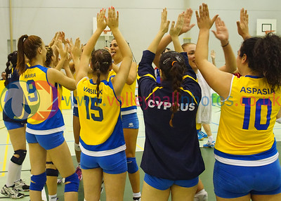 CYP 3 v 2 FAR (25-22, 17-25, 17-25, 25-20, 15-7), 2015 Women's CEV European Championship Finals (Small Countries Division), Gemeindeschulen, Schaan, Liechtenstein, Sat 16th May 2015.