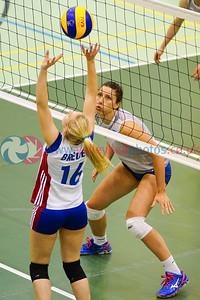 LUX 0 v 3 SCO (12, 15, 19), 2015 Women's CEV European Championship Finals (Small Countries Division), Gemeindeschulen, Schaan, Liechtenstein, Sat 16th May 2015.