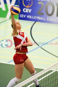 SCO v CYP (25-19, 21-25, 16-25, 25-22, 9-15), 2015 Women's CEV European Championship Finals (Small Countries Division), Gemeindeschulen, Schaan, Liechtenstein, Sat 16th May 2015.