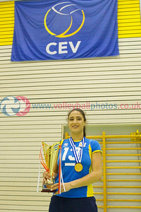 2015 Women's CEV European Championship Finals (Small Countries Division) Presentations, Gemeindeschulen, Schaan, Liechtenstein, Sun 17th May 2015.