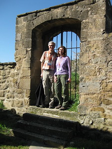 Ken and Jean Telljohann at Santa Maria de Eunate - Johanna Frymoyer *12