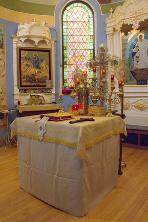 Revesting of the Altar Table