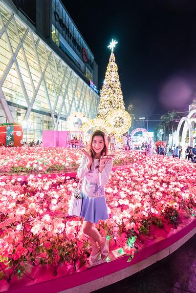 Central World New Year Illumination 2015
