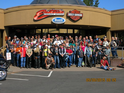 Chapter Meeting and Ride, May 30, 2015