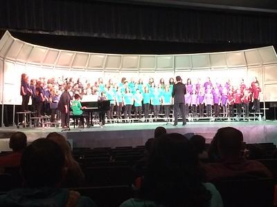 Choir Concert at Glencoe