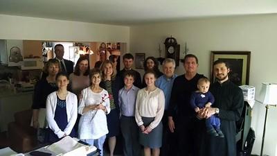 Choir Visiting Mary Ann