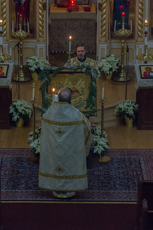 Matins, Liturgy and Vespers