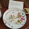 Santa ate all the cookies, reindeer ate the seeds!