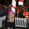 Britt at Christmas in the park