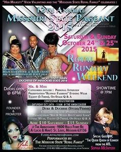 Chuck Pfoutz Presents: Mr. And Miss Missouri State 2015
