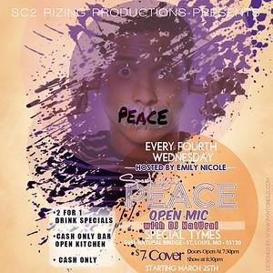 Chuck Pfoutz Presents: Speak Your Peace 2015