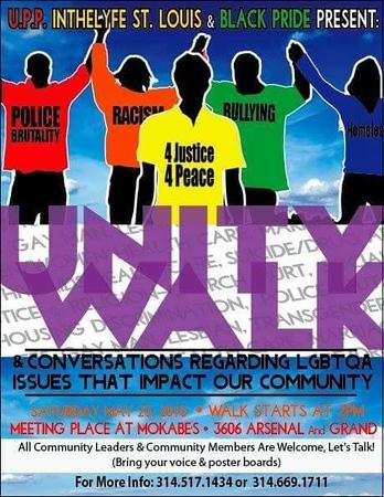 Chuck Pfoutz Presents: Unity Walk 2015