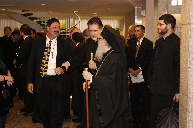 Welcoming Archbishop Demetrios