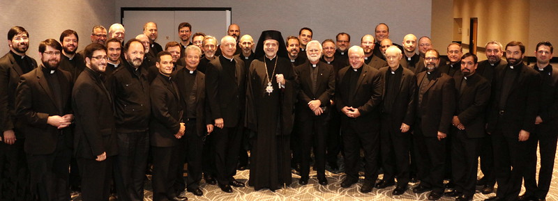 Metropolitan Nicholas and Clergy