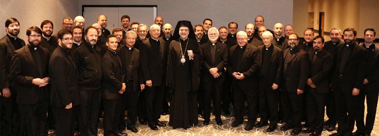 Metropolitan Nicholas and Clergy