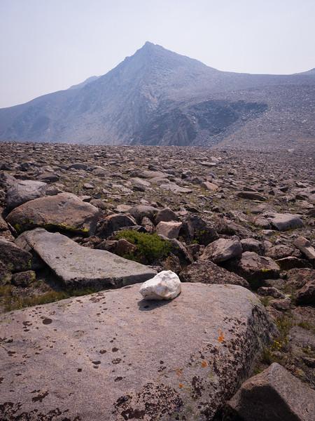 Toward Vanguard Peak