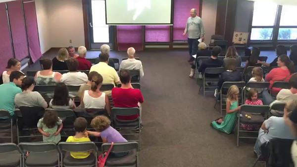 2015-07-18 Vespers Program About Grandpa Benton