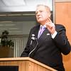 Senator John J. Bonacic offers remarks as Safe Homes of Orange County kicks off Domestic Violence Awareness Month in Newburgh, NY on Thursday, October 1, 2015. Hudson Valley Press/CHUCK STEWART, JR.