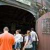 People enjoyed seeing the Wagon Maker barn while attending Fiesta Latina at Museum Village in Monroe, NY on Saturday, September 12, 2015. Hudson Press/CHUCK STEWART, JR.