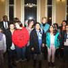 Newburgh City Council recognized Rev. Deborah Dresser for her work with the Newburgh Girl Power Program on Monday, January 12, 2015. Hudson Valley Press/CHUCK STEWART, JR.